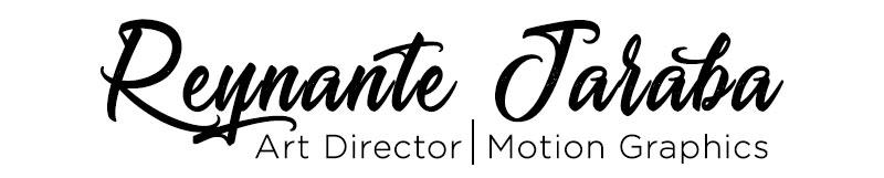 Reynante Jaraba Art Director Motion Graphics